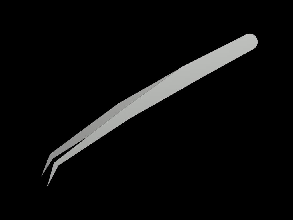ピンセットのフリーイラスト画像